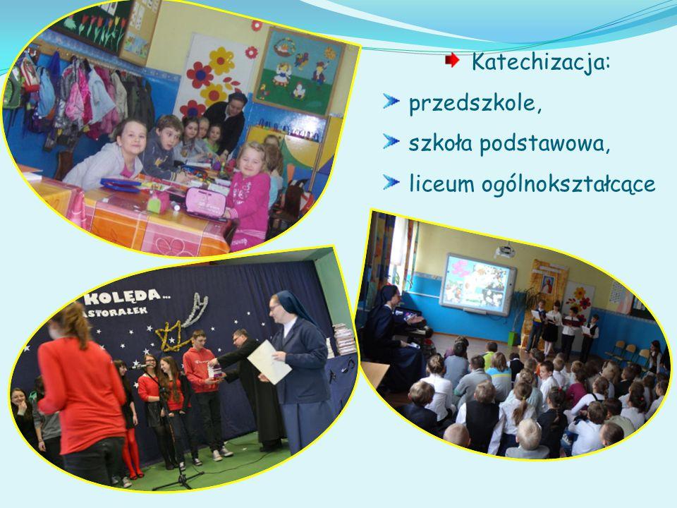 Praca z dziećmi i młodzieżą to posługa s. Urszuli i s.
