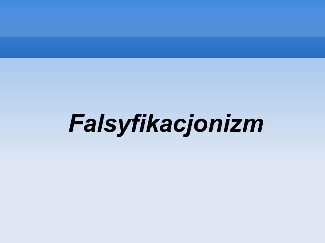 Falsyfikacjonizm