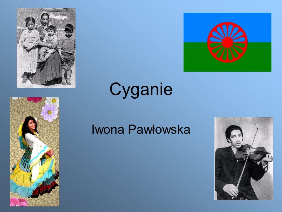 Cyganie Iwona Pawłowska