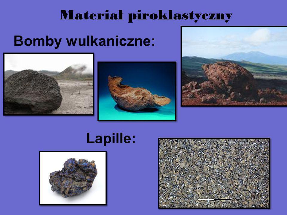 Bomby wulkaniczne: Lapille: Materiał piroklastyczny