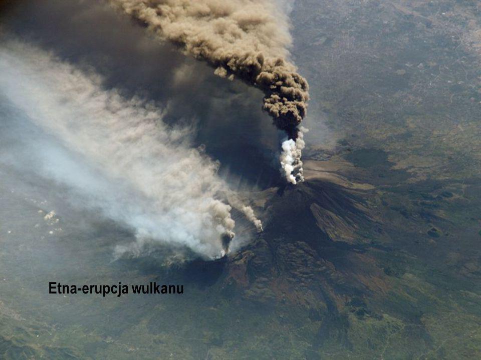 Etna-erupcja wulkanu