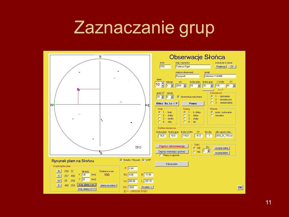 11 Zaznaczanie grup