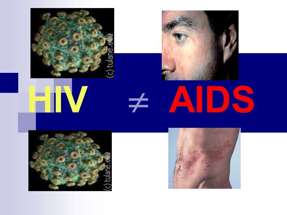 Diagnostyka zakażenia HIV ELISA IV ( a-HIV Ab/Ag Combo) czułość-100%, specyficzność 99,87% (-) (+) Wydanie wyniku ELISA III ( a -HIV Ab) (+) ELISA III ( a -HIV Ab) (-) WB (+) Wydanie wyniku (+) ELISA 2x Diagnostyka: OIR lub fałszywie (+).test IV gener