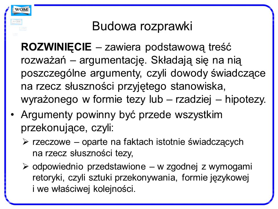 W toku ćwiczeń pamiętajmy o… rozwijaniu umiejętności określania typu tekstu, który stanowi przedmiot rozważań, a więc: rozpoznawaniu gatunku utworu (np.