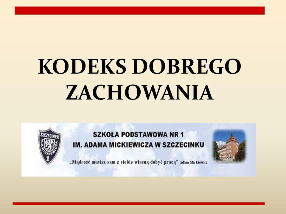 KODEKS DOBREGO ZACHOWANIA