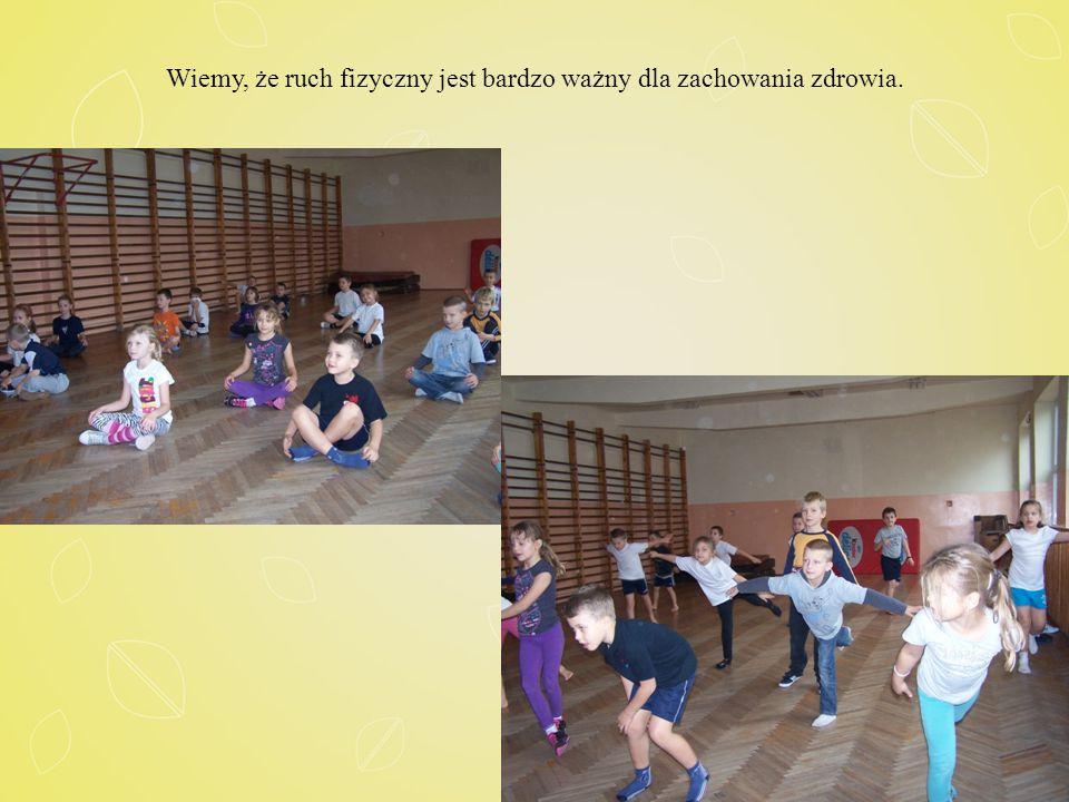 Wiemy, że ruch fizyczny jest bardzo ważny dla zachowania zdrowia.