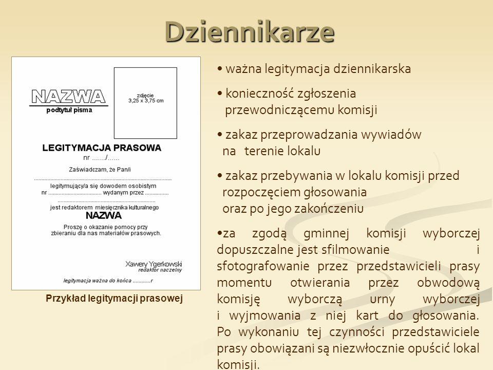 Głosowanie przez pełnomocnika I.