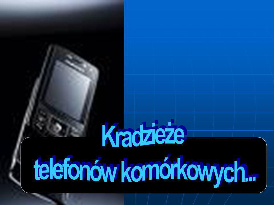 Wg danych policyjnych szacuje się, iż na terenie Podlasia ginie rocznie średnio 2.000 telefonów.