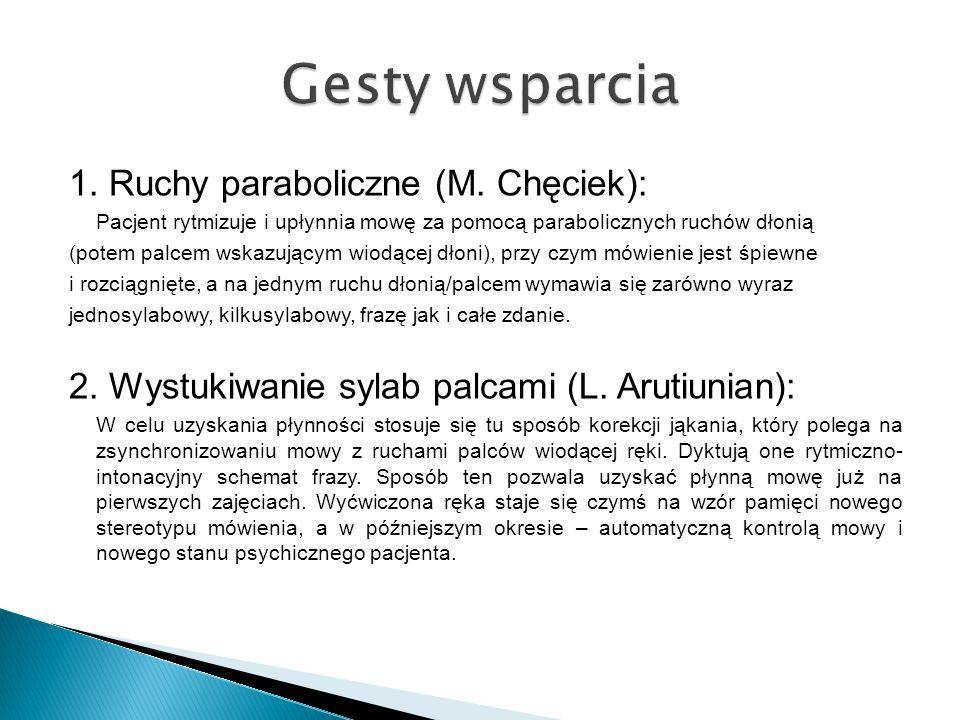 1.Ruchy paraboliczne (M.