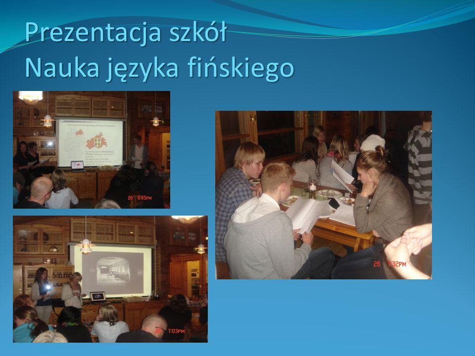 Prezentacja szkół Nauka języka fińskiego