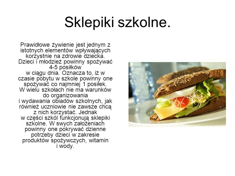 Sklepik w 12 w Kielcach. Sklepik w ZSO 12 w Kielcach.