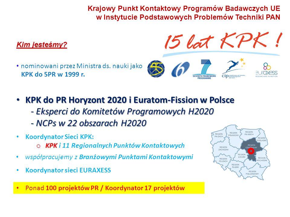 13 Copyright © KPK PB UE IPPT PAN 13 Cykle realizacji H2020