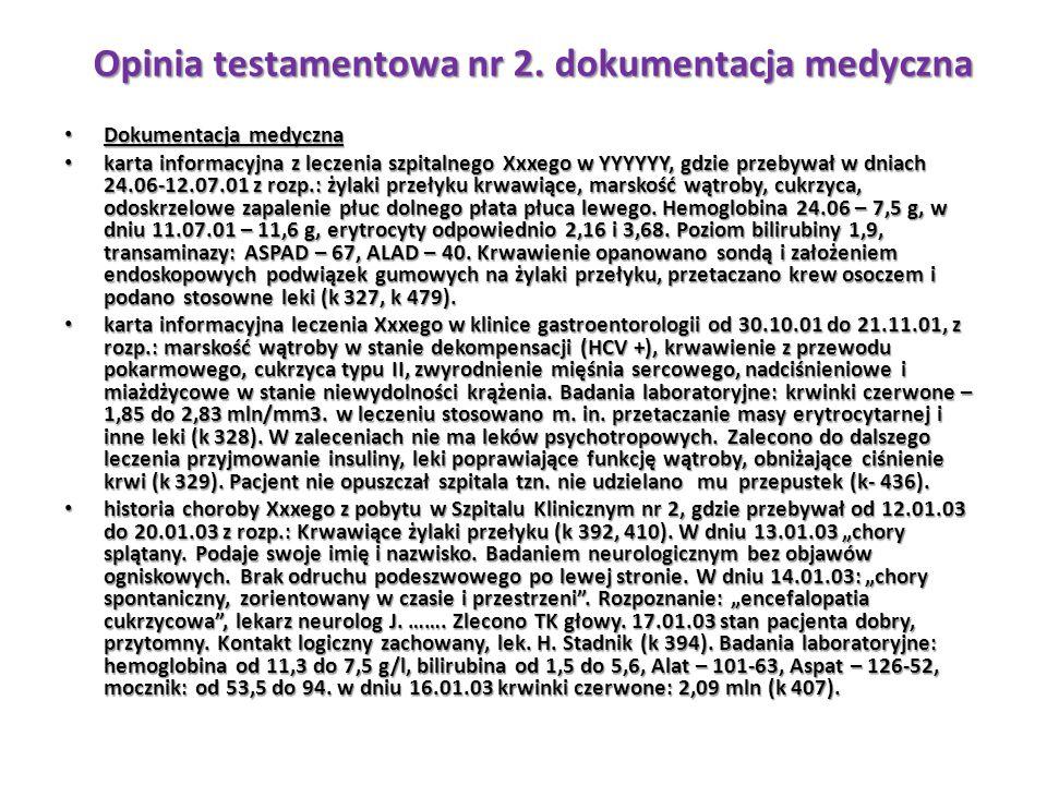 Dokumentacja medyczna Dokumentacja medyczna karta informacyjna z leczenia szpitalnego Xxxego w YYYYYY, gdzie przebywał w dniach 24.06-12.07.01 z rozp.