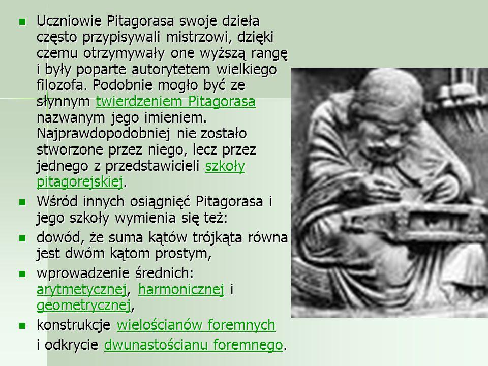 Brał udział w zawodach bokserskich podczas 48. olimpiady w roku 554 p.n.e., zdobywając tytuł mistrzowski. Sam Pitagoras był wegetarianinem. Brał udzia