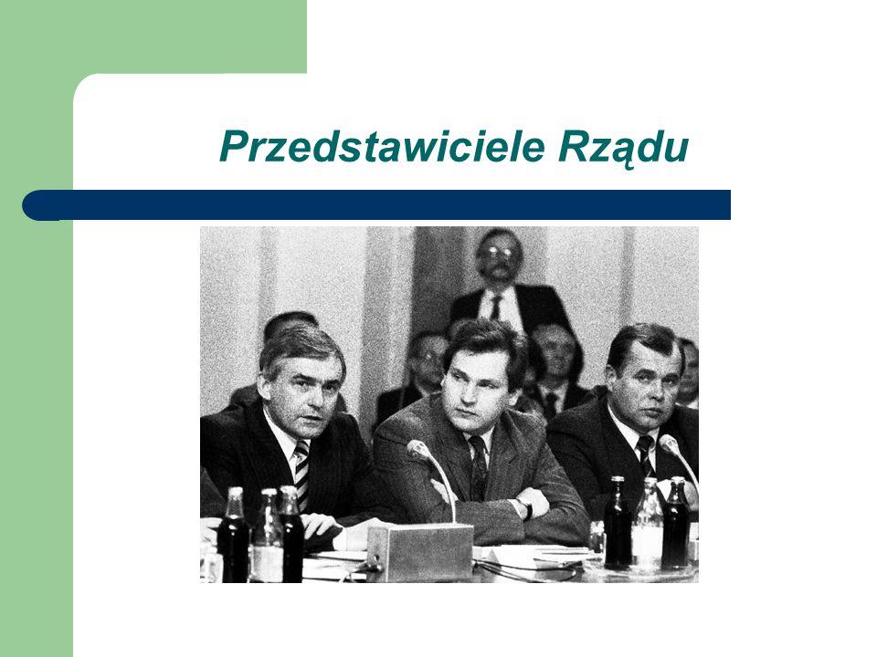 Przedstawiciele Rządu