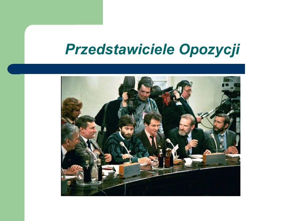 Przedstawiciele Opozycji