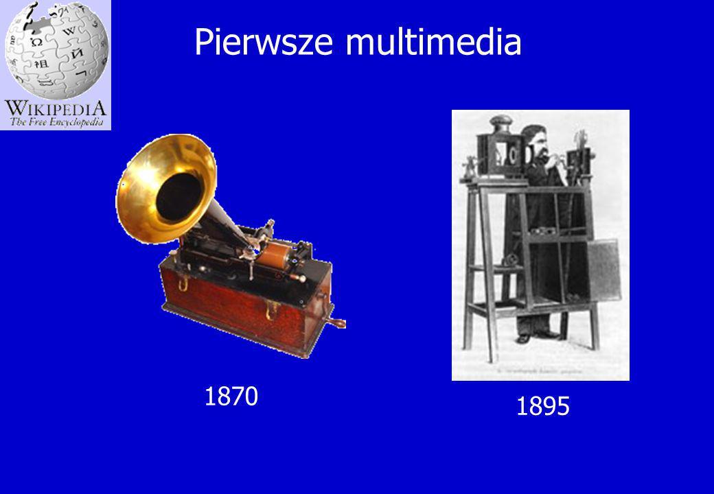 Pierwsze multimedia 1895 1870