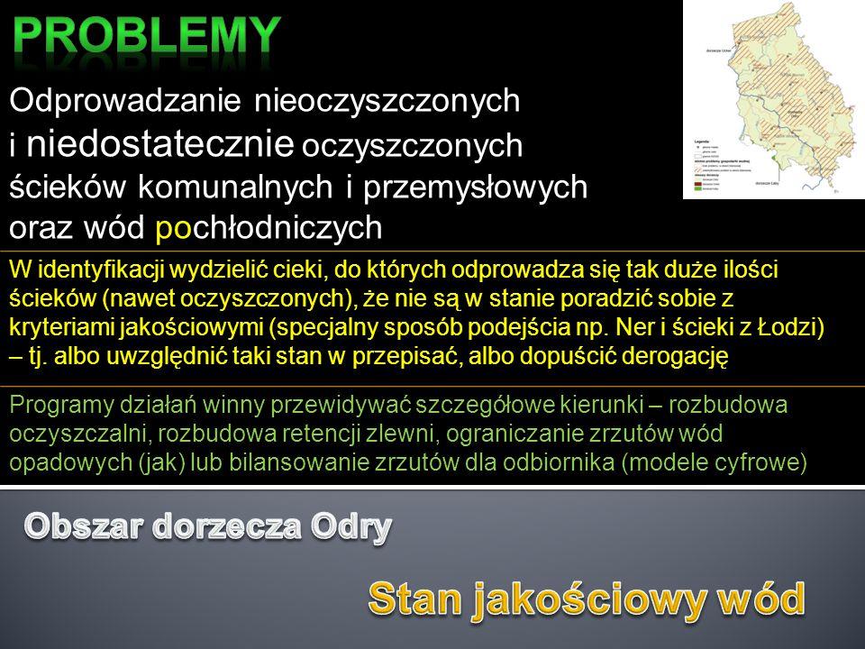 Zaopatrzenie w wodę w strefie przymorskiej Problemem pominięty, zgłoszony przez RZGW w Szczecinie jako niezwykle istotny dla obszarów przymorskich, ze względu na nirównomierność poborów oraz zasolenie zasobów.
