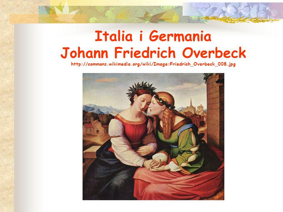 Italia i Germania Johann Friedrich Overbeck http://commons.wikimedia.org/wiki/Image:Friedrich_Overbeck_008.jpg
