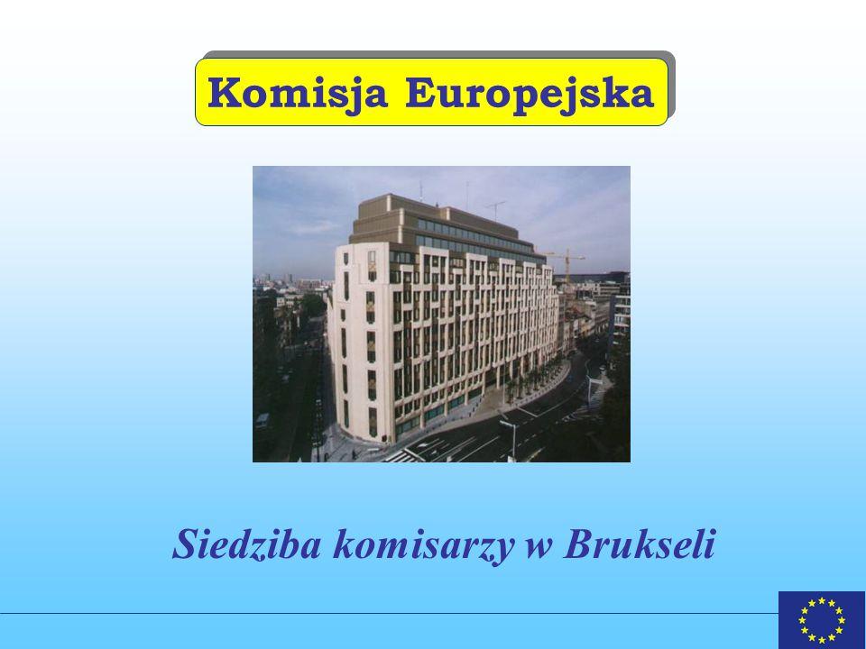 Komisja Europejska Siedziba komisarzy w Brukseli