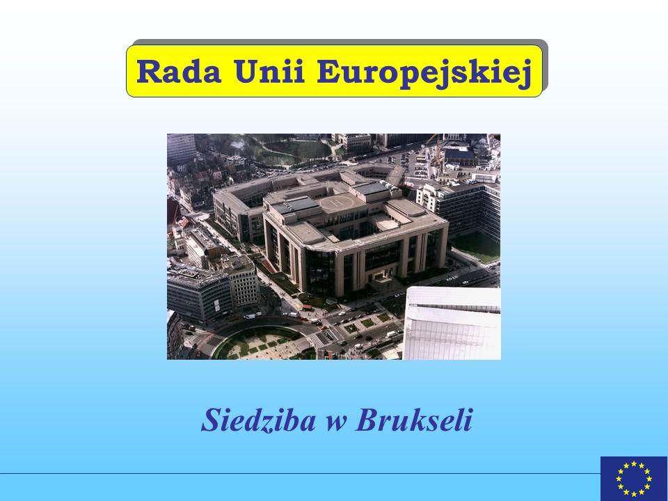 Rada Unii Europejskiej Siedziba w Brukseli