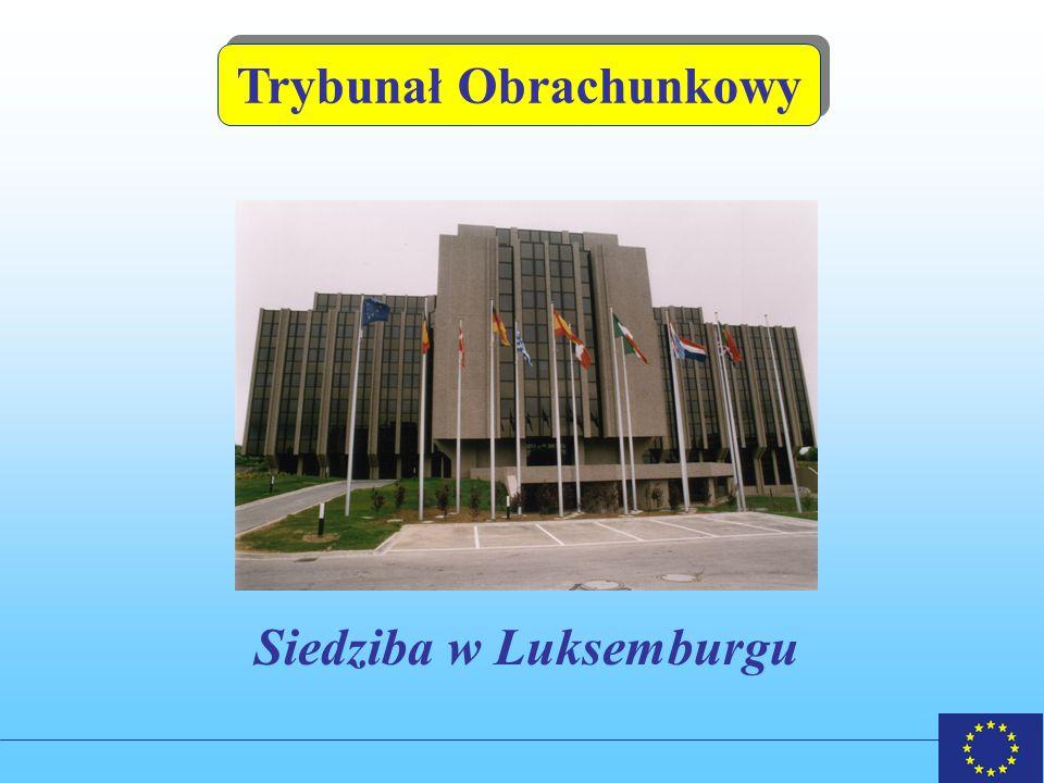 Trybunał Obrachunkowy Siedziba w Luksemburgu