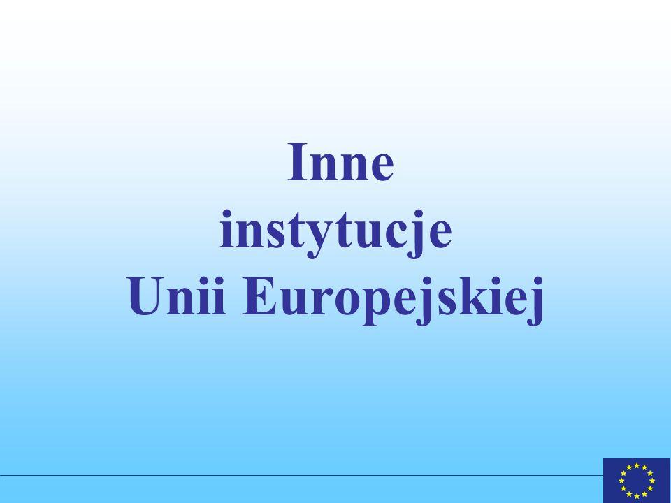 Inne instytucje Unii Europejskiej
