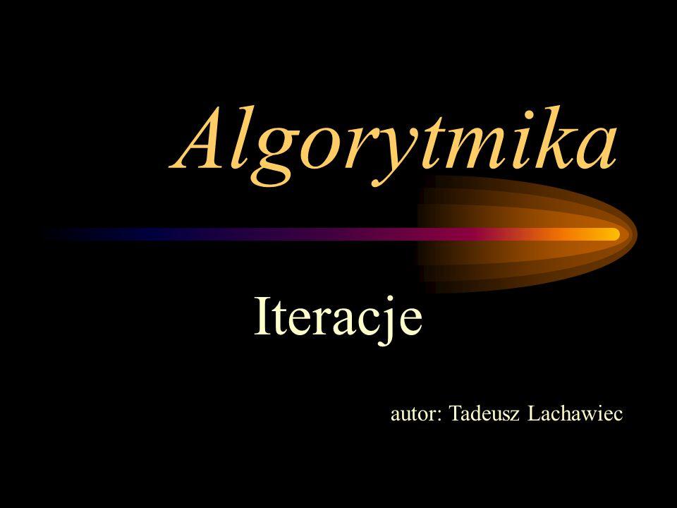 Algorytmy iteracyjne - ćwiczenia zad.1 Obliczanie sumy i średniej n dowolnych liczb naturalnych.