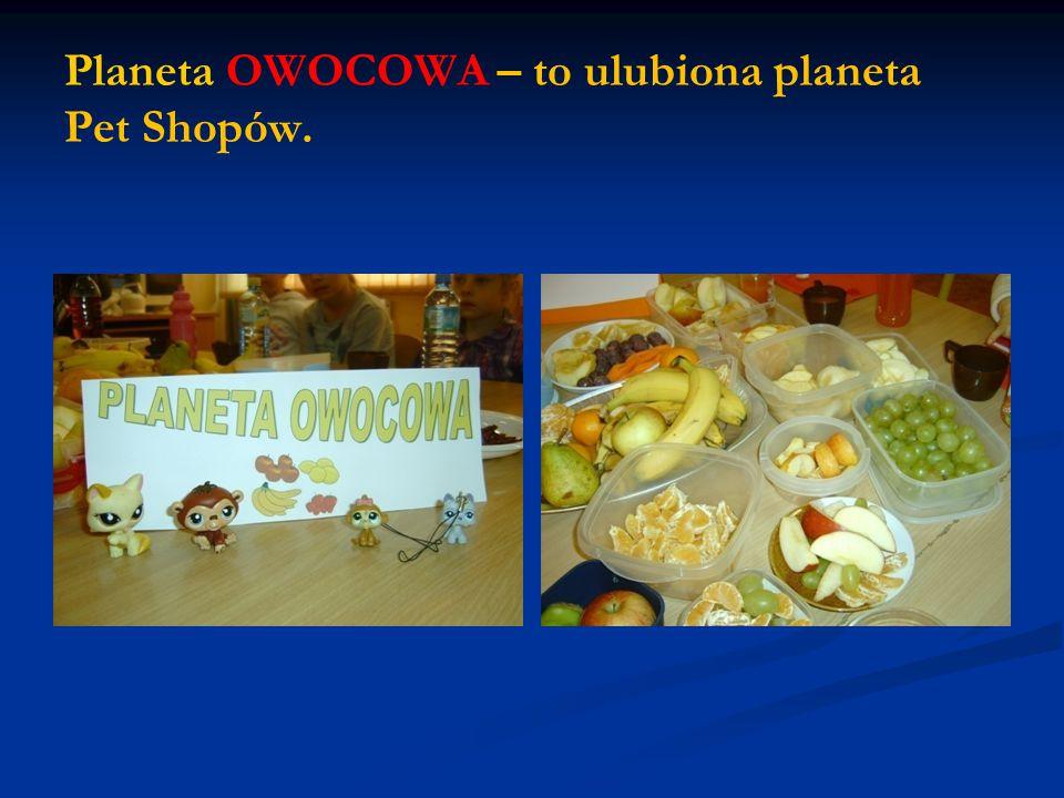 Planeta OWOCOWA – to ulubiona planeta Pet Shopów.