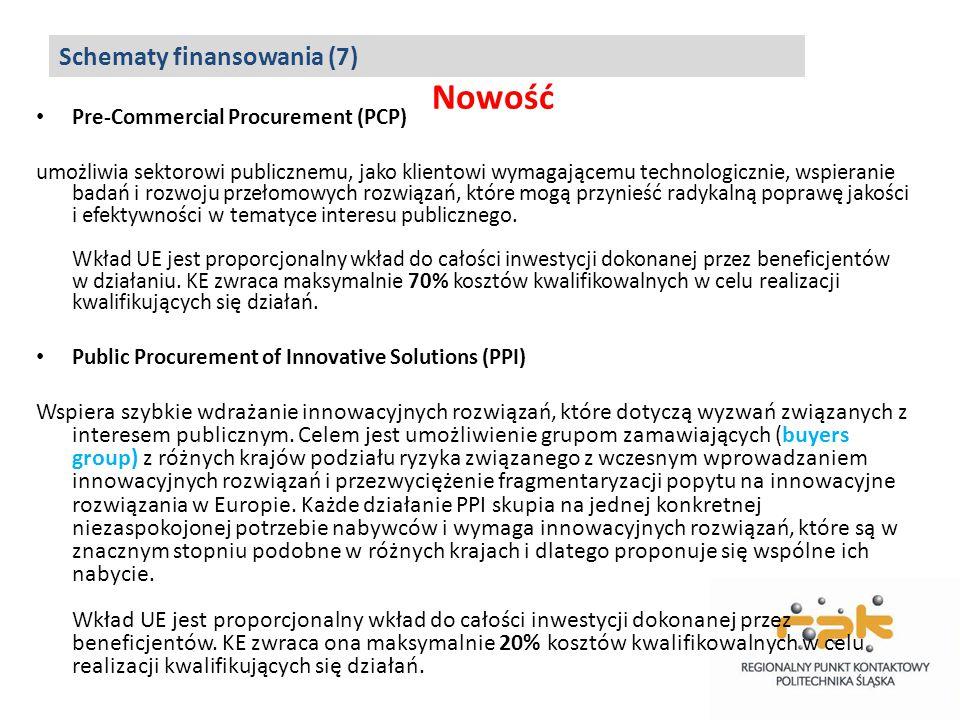 Nowość Pre-Commercial Procurement (PCP) umożliwia sektorowi publicznemu, jako klientowi wymagającemu technologicznie, wspieranie badań i rozwoju przeł