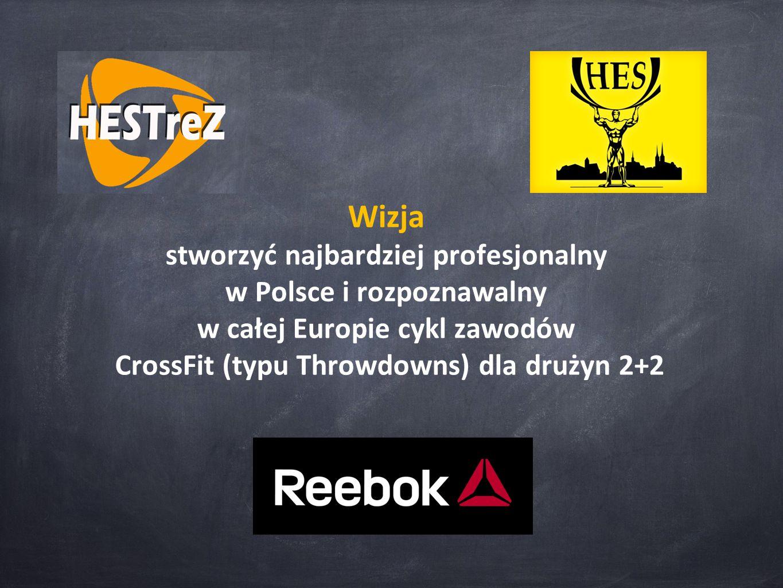 Wizja stworzyć najbardziej profesjonalny w Polsce i rozpoznawalny w całej Europie cykl zawodów CrossFit (typu Throwdowns) dla drużyn 2+2