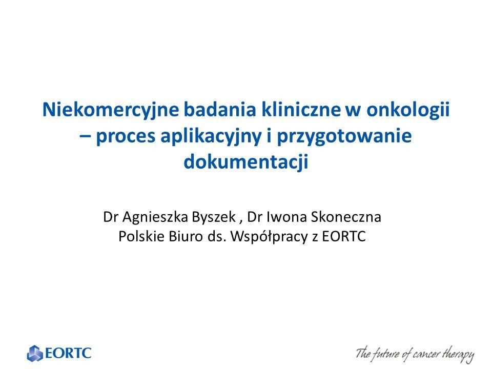 Odsetek badań klinicznych prowadzonych przez sponsorów niekomercyjnych 2005-2013 (source of data: EMA, DIA 23-24 September 2014) W Polsce prawie całkowity brak badań akademickich.