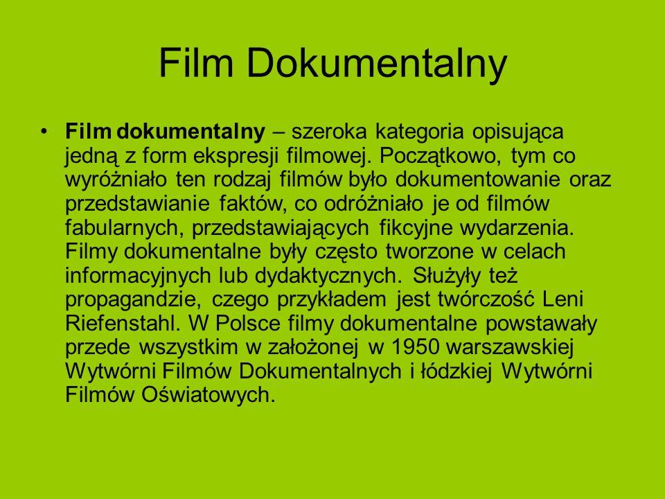 Film Fabularny Film fabularny – film fikcji, film aktorski przeznaczony głównie do wyświetlania w kinach.