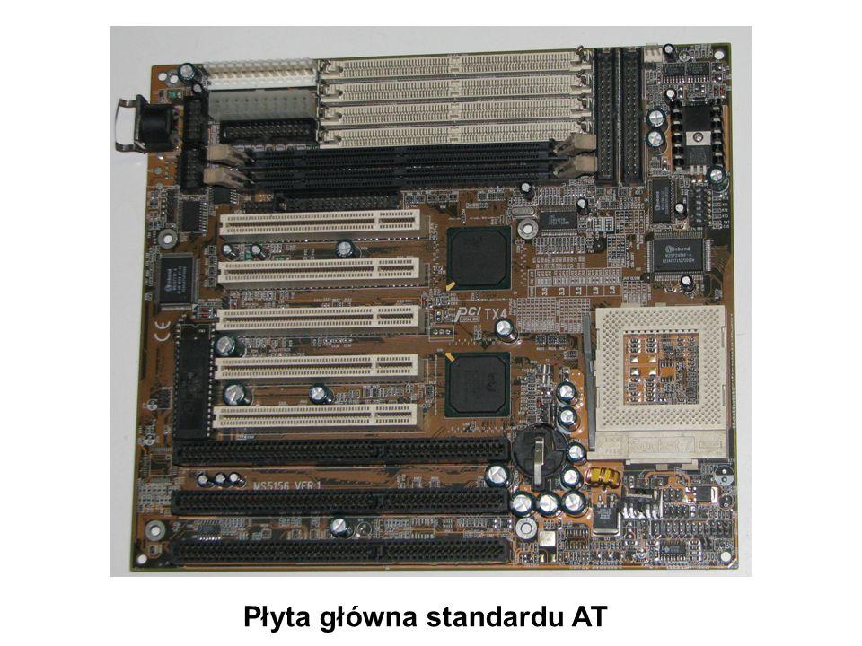 Gniazda pamięci SIMM PS/2 Płyta główna standardu AT