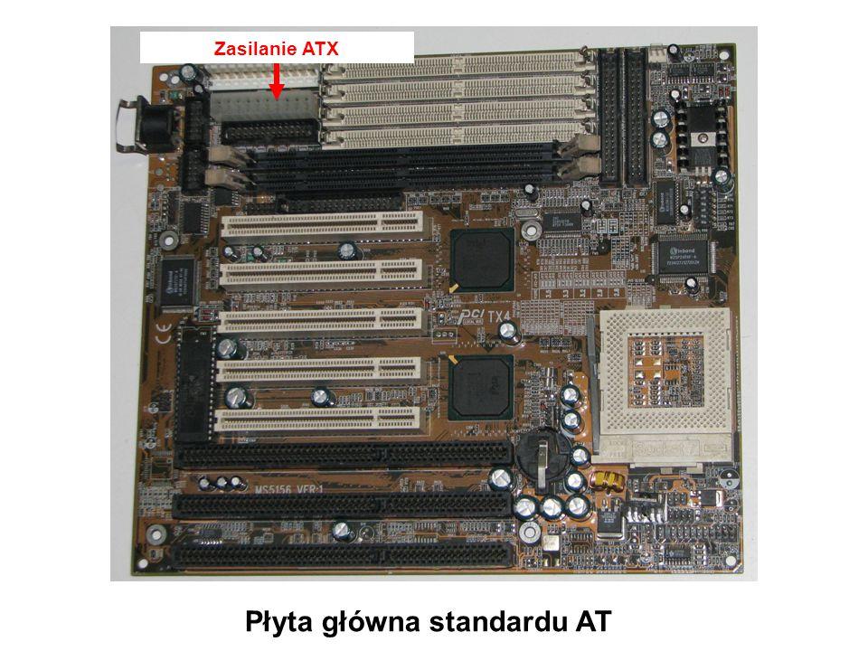 Gniazda PCI Płyta główna standardu AT