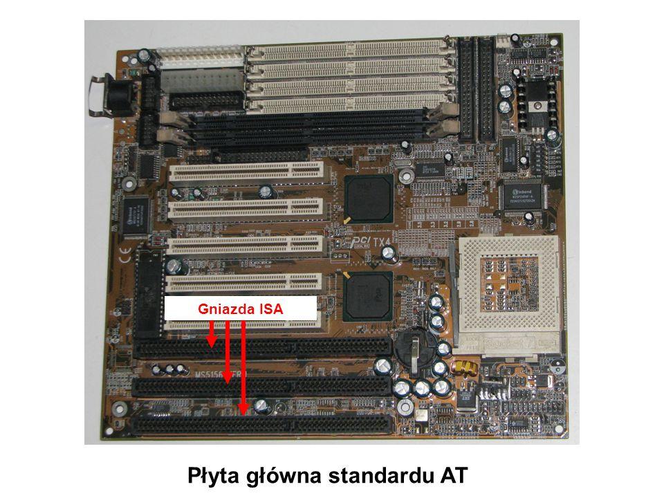 Płyta główna standardu ATX Gniazdo zasilania ATX
