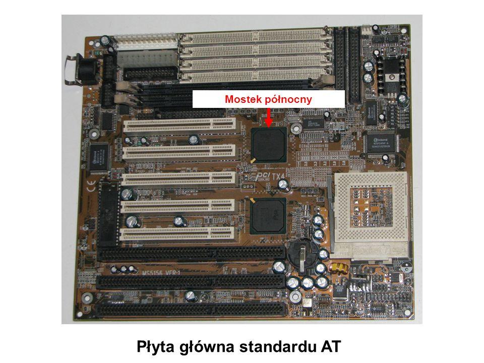 Płyta główna standardu ATX Zintegrowane interfejsy urządzeń peryferyjnych