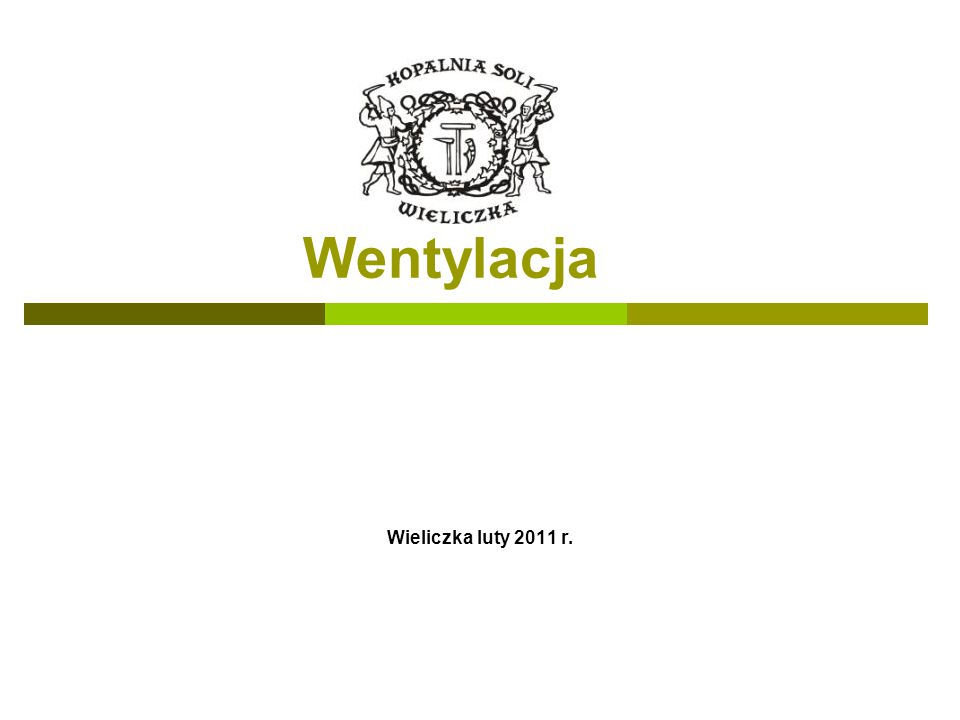 Wentylacja Wieliczka luty 2011 r.