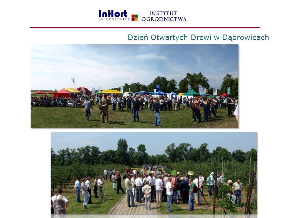 INSTYTUT OGRODNICTWA Dzień Otwartych Drzwi w Dąbrowicach