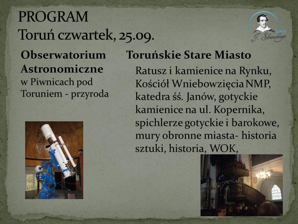 Toruńskie Stare Miasto Ratusz i kamienice na Rynku, Kościół Wniebowzięcia NMP, katedra śś. Janów, gotyckie kamienice na ul. Kopernika, spichlerze goty