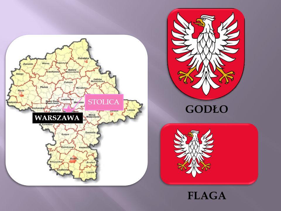 GODŁO FLAGA WARSZAWA STOLICA