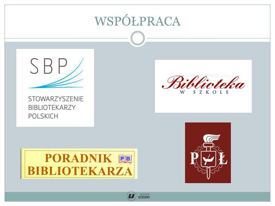 Współpraca: koordynator ds.promocji Pedagogiczna Biblioteka Wojewódzka im.
