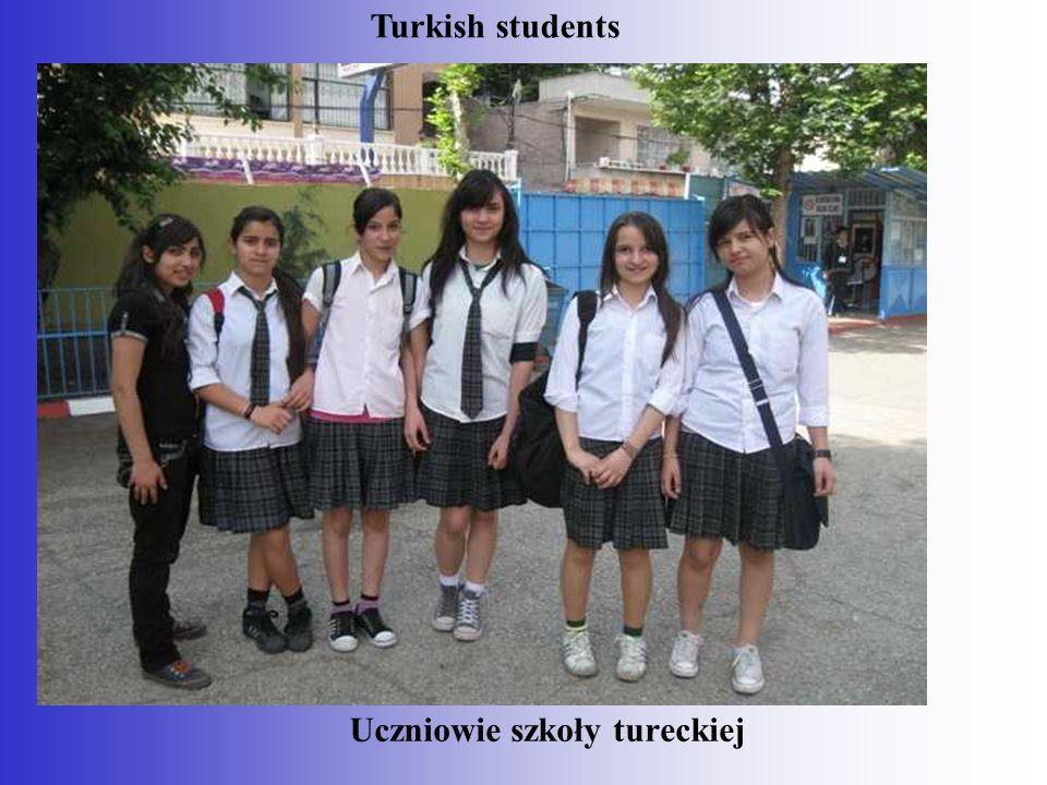 Uczniowie szkoły tureckiej Turkish students