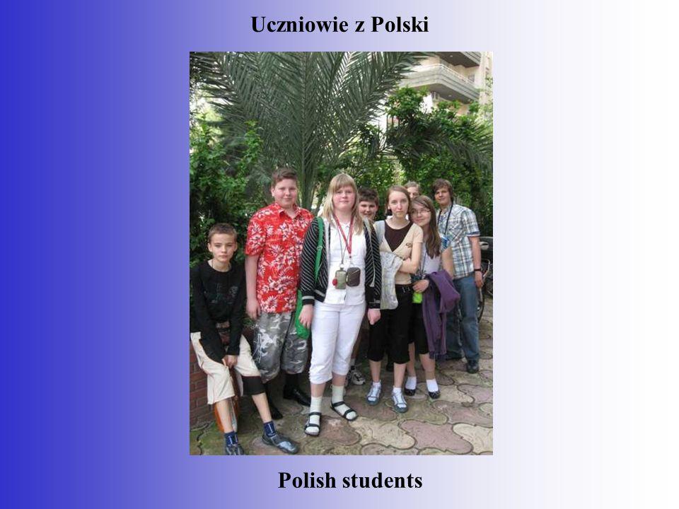 Polish students Uczniowie z Polski