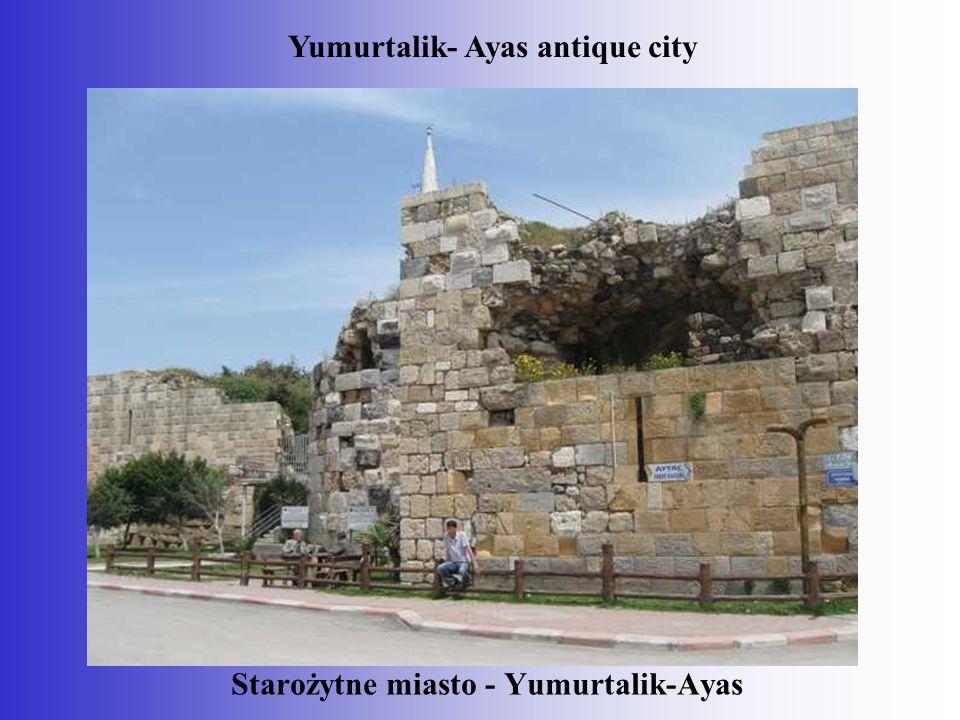 Starożytne miasto - Yumurtalik-Ayas Yumurtalik- Ayas antique city