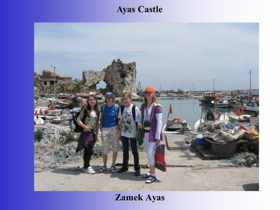 Zamek Ayas Ayas Castle
