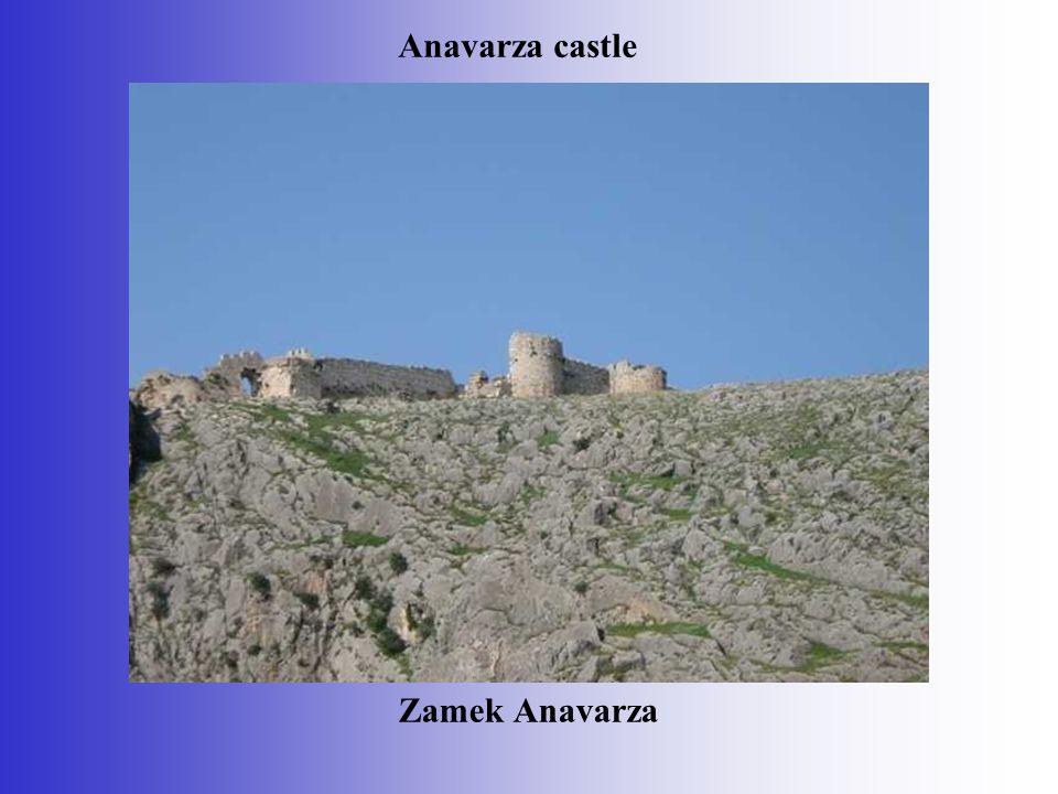 Zamek Anavarza Anavarza castle