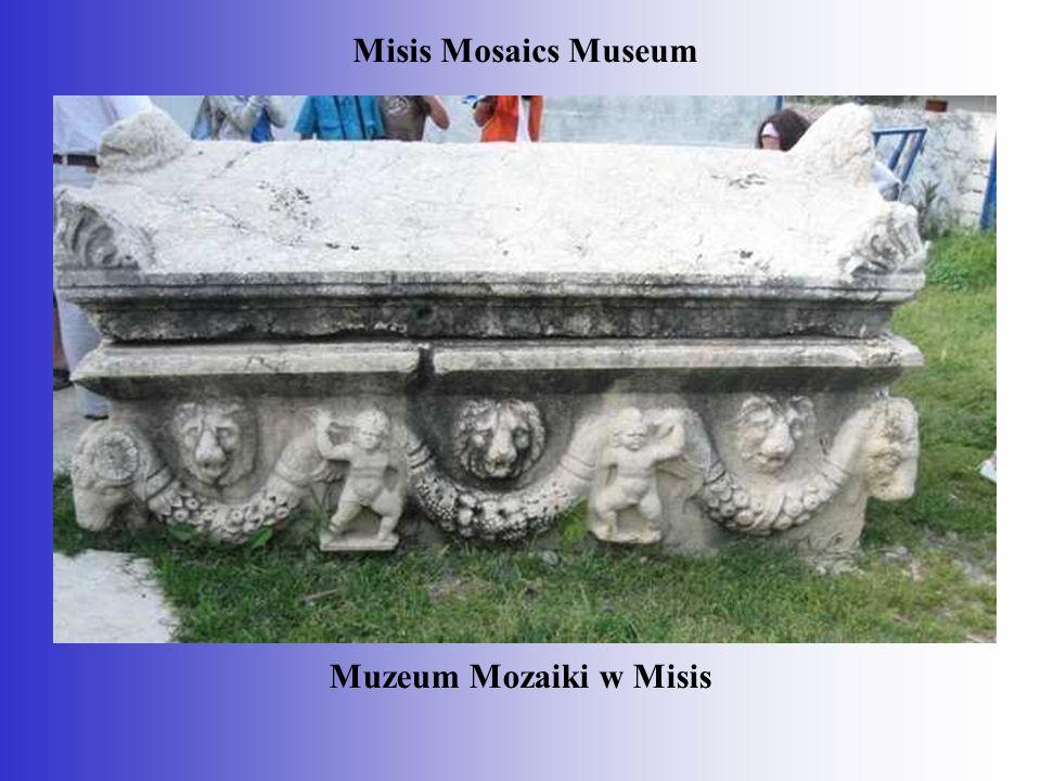 Muzeum Mozaiki w Misis Misis Mosaics Museum