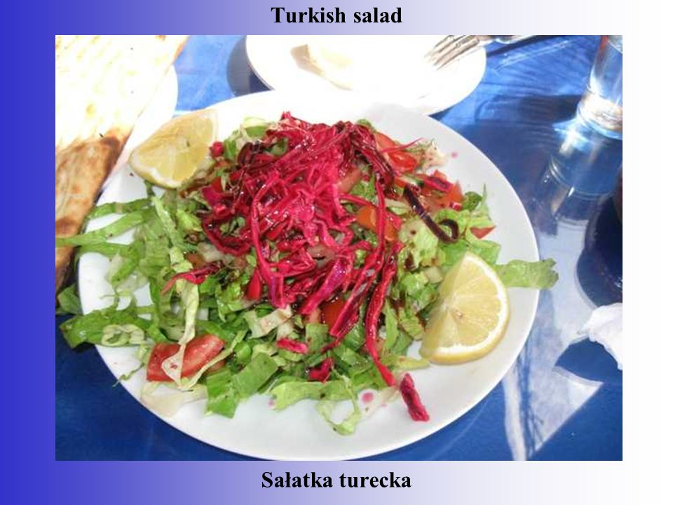 Sałatka turecka Turkish salad