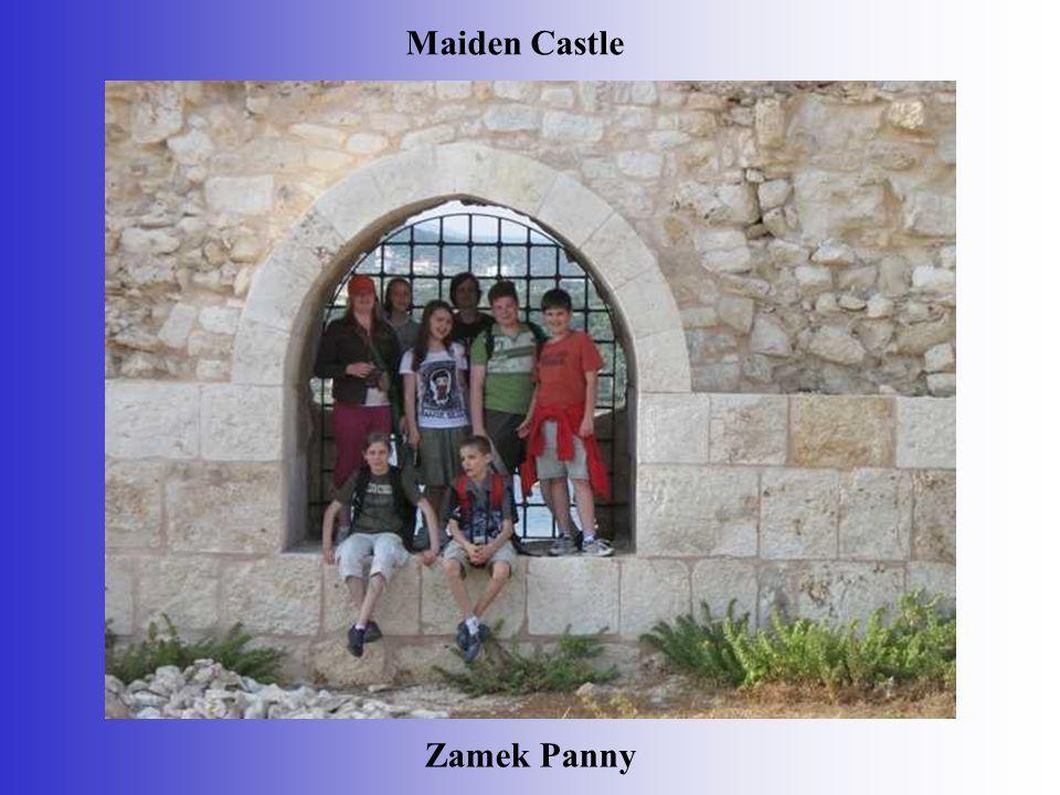Zamek Panny Maiden Castle